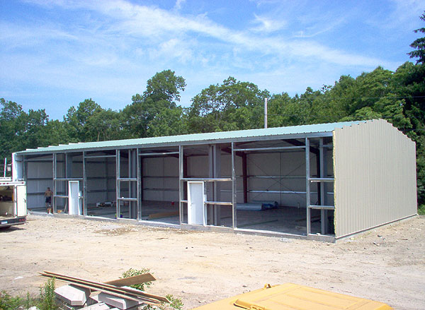 Northland Steel Buildings Engineered For New England In